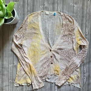 Anthropologie Sparrow Light Knit Top
